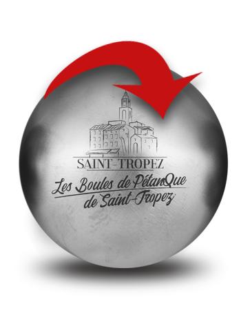 BOULES DE PETANQES DE SAINT-TROPEZ